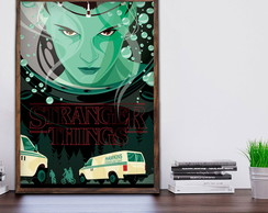 Quadro Stranger Things c Moldura A3