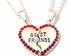 Colar Amizade Best Friends 2 pçs