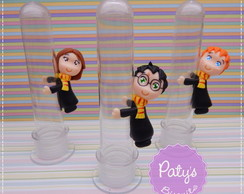 "Tubetes ""Agarradinhos"" Harry Potter"