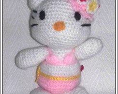 HELLO KITTY. Amigurumi.