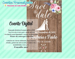Casamento Save The Date