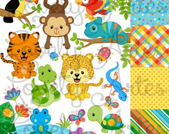 Kit Scrapbook Digital Animais - 3