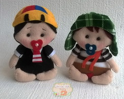 KIT Turma do Chaves- Mini 10 cm