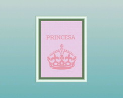 Poster digital princesa
