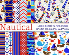 Scrapbook Nautical