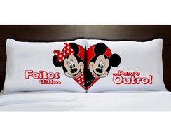 Fronhas Minnie e Mickey