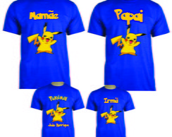 Kit camisetas aniversario Pokemon