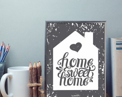 Poster A4 - Home, sweet home