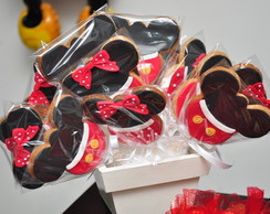 Bolachas Decoradas - Minnie e Mickey