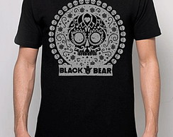 CAMISETA BLACK BEAR - MEXICAN SKULL