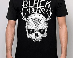 CAMISETA BLACK BEAR - SKULL