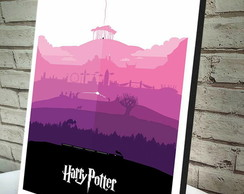 Poster / Quadro A4 Harry Potter