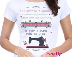 Camiseta Baby-Look - Costura