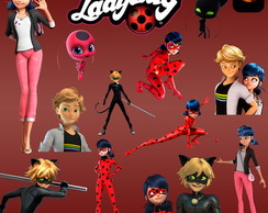 Kit Digital PNG - Miraculous LadyBug