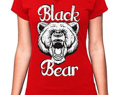 BABY LOOK BLACK BEAR - URSO