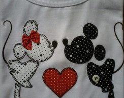 Camiseta Personalizada Mickey e Minnie