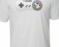 Camiseta Game super Nintendo Geek
