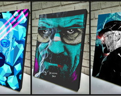 Combo Poster /Quadro 3 Pçs Breaking Bad