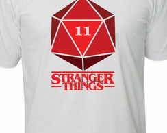 Camiseta stranger things dado Geek Nerd