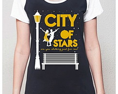 BABY LOOK RAGLAN-CITY OF STAR-LA LA LAND