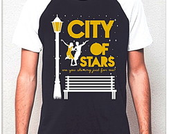 CAMISETA RAGLAN- CITY OF STAR-LA LA LAND