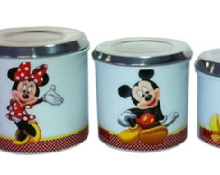 PORTA MANTIMENTOS BRANCO DA MINNIE