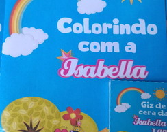 Revistinha de colorir