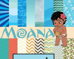 Kit Digital Moana Scrapbook
