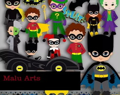 Kit Scrapbook Digital - Batman