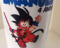Copo suco 360ml Dragon ball