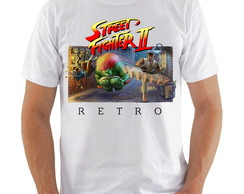 Camiseta Street Fighter Retro