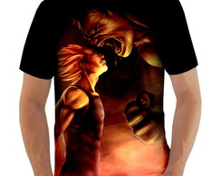 Camiseta Vegeta vs Hulk