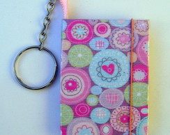 Chaveiro Feminino Porta Post-it CO003