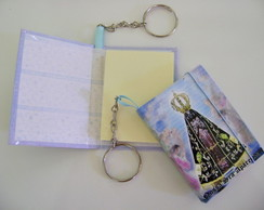 Chaveiro Feminino Porta Post-it S001