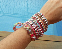 Pulseira Wrap Colorida 3052