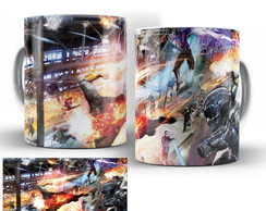 caneca seriado dc legends of tomorrow 03