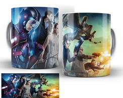 caneca seriado dc legends of tomorrow 08