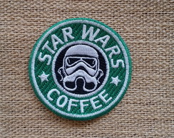 Patch termocolante bordado StarCoffee