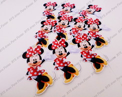 Aplique com 9,5 cm - Minnie Mouse - Mickey Mouse