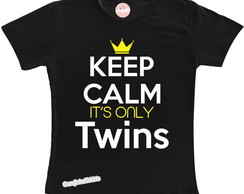 Camiseta KEEP CALM Twins