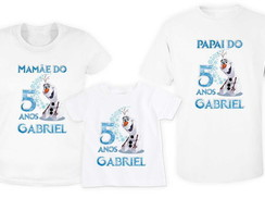 KIT 3 Camisetas OLAF