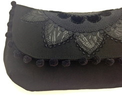 Clutch com Mandala Bordada LH2