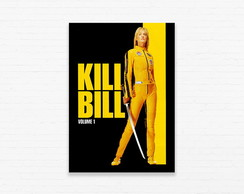 Quadrinho 19x27 Kill Bill