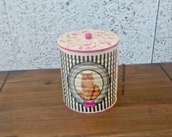 latas decorativas. PET