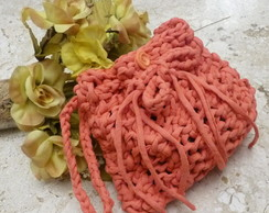 Mini Bag Rendada Coral