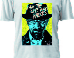 CAMISETA BREAKING BAD THE ONE WHO KNOCKS