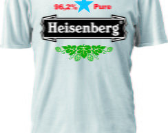 CAMISETA BREAKING BAD LOGO HEINEKEN