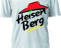 CAMISETA BREAKING BAD LOGO pizza hut