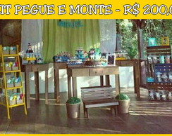 Pegue e monte - Kits novos