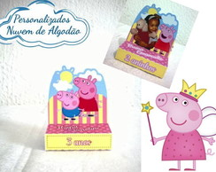 Porta chocolate duplo - Peppa +TEMAS